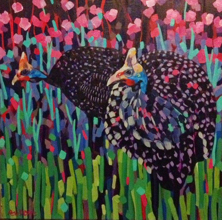 """""""Two Guineas"""" by Mellissa Read-Devine (sold)"""