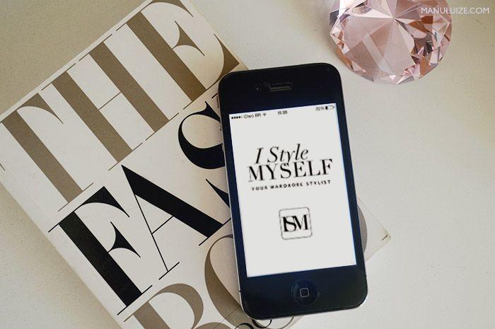 Aplicativo para iPhone que cria look do dia com suas roupas: I Style Myself, saiba mais no blog http://manuluize.com.