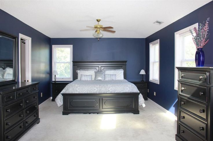 Navy bedroom naval sherwin williams with images blue