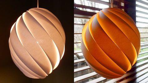 64 trendy Ideas diy lamp shade pendant wood veneer (With ...