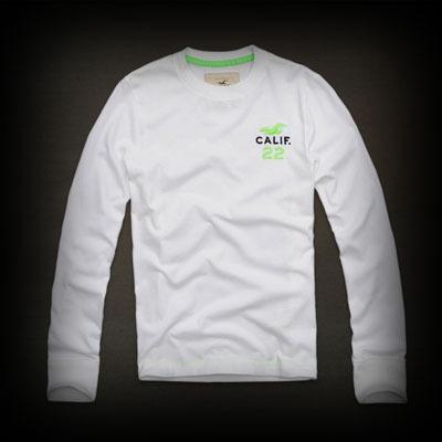 Hollister Huntington Beach Tシャツ★ネオンカラーが個性的でオシャレですね♪  ★コットン-100%で肌ざわり着心地バツグンの長袖Tシャツ! #ITShop
