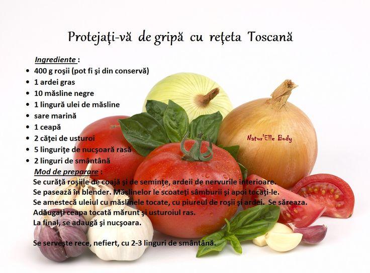 Protejaţi-vă de gripă cu reţeta Toscană