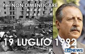 L'uccisione di Borsellino