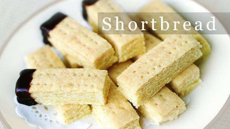 쇼트 브레드 쿠키 만들기 - 크리스마스 쿠키 Shortbread Christmas Cookies