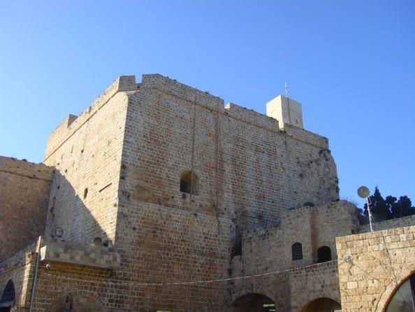 Ciudad vieja de Acre Israel.