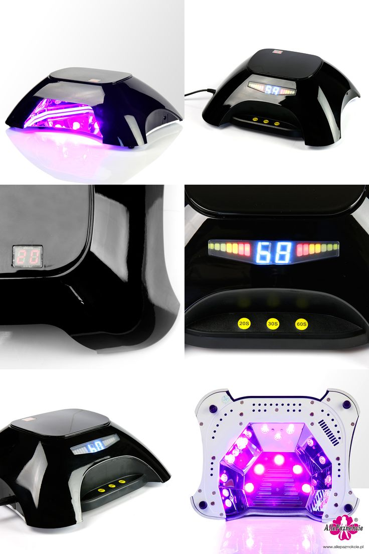 Nowa, futurystycznie wyglądająca Lampa LED z podwójnym wyświetlaczem z odliczaniem czasu i 3 zaprogramowanymi czasami utwardzania. Energooszczędna i niezawodna - pracuje do 50000 godzin bez wymiany żarówek. Polecamy!