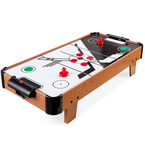 Best Choice Products 40in Air Hockey Arcade Table W 100v Motor Powerful Electric Fan 2 Strikers 2 Pucks Walmart Com Walma In 2020 Air Hockey Pucks Electric Fan