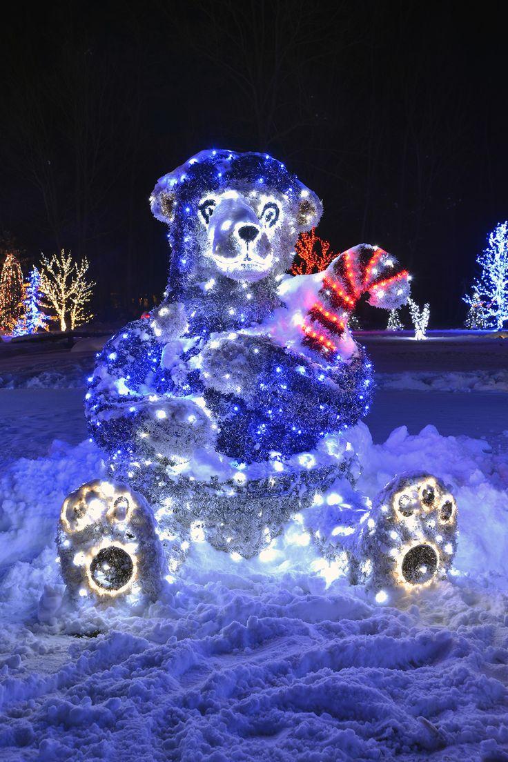 teddy bear on Christmas Fairytale in Croatia near Zagreb