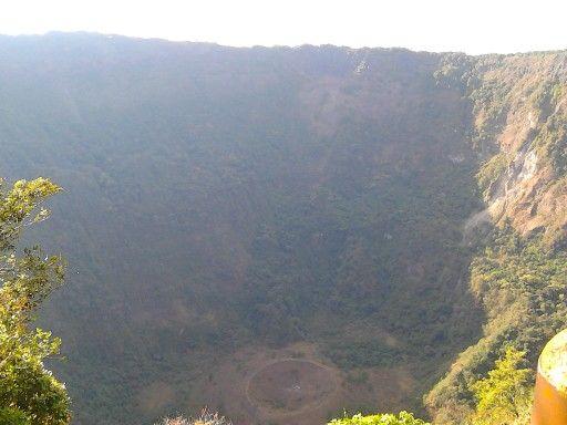 El Boqueron National Park. volcano of San Salvador, El Salvador.
