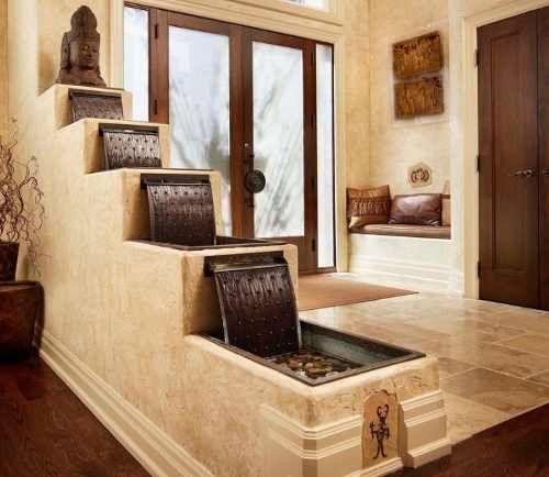 Cascadas y fuentes jardines zen interior y exterior - Fuente decoracion interior ...