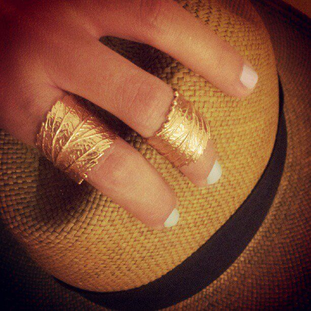 Thallo leaf ring