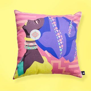If Mbali is your kind of scatter. Get her, see link in bio. 10%off + free delivery.    #bekind #womenkind #lulasclan #interior #decor #home #happiness #bespoke #feelathome #couchscatters #interior #colourful #contemporary #art