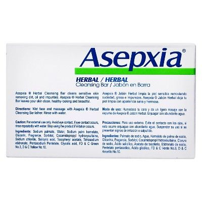 Asepxia Herbal Cleansing Bar Soap 4 oz