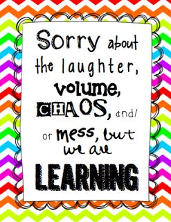 Mrs. A-Colwell's Class: Sorry about the mess… we're learning! FREE sign