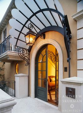 A Townhouse - traditional - entry - san francisco - by Andrew Skurman Architects
