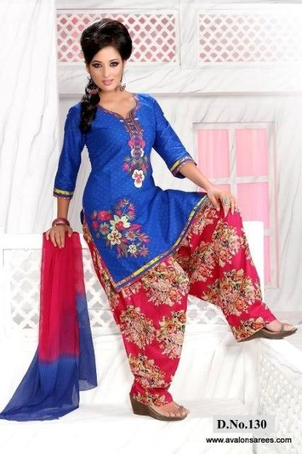 2 formal punjabi party wear suit 2014 ideas