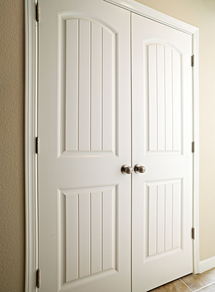 Best 25 white interior doors ideas on pinterest for Exterior closet doors