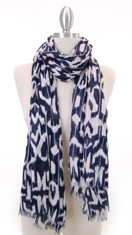 Summer's must-have scarf! Shop this look at more at www.shopbluedoor.com