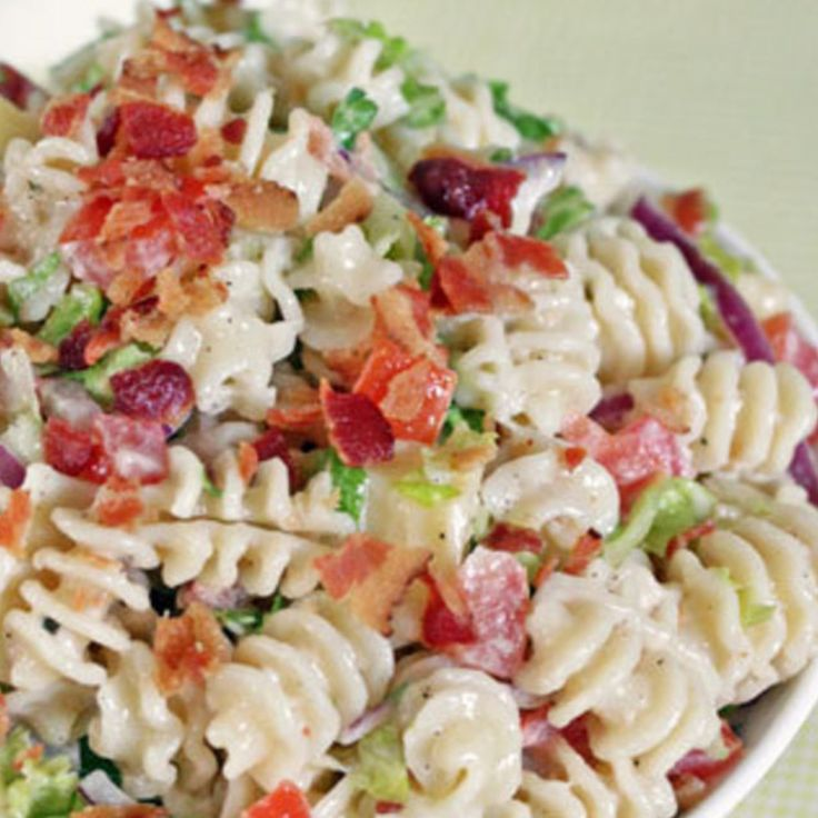 Ranch BLT Macaroni Salad