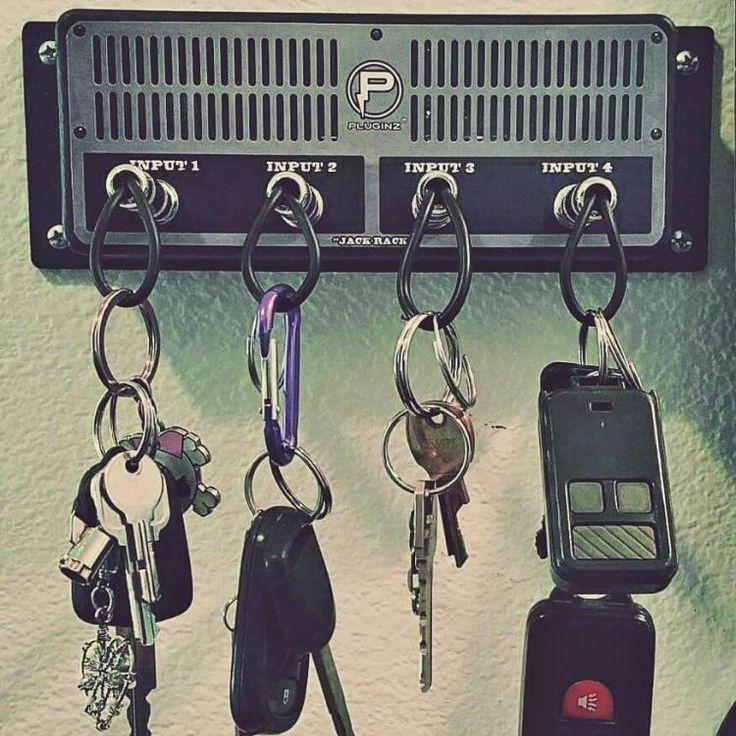 Guitar Amplifier Key Holder