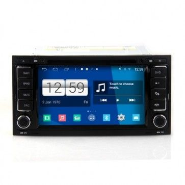 "7"" Autoradio Android 4.4.4 VW Volkswagen TOUAREG, T5 California Multivan Poste DVD GPS USB Bluetooth écran tactile 4G IPOD Iphone Wi-Fi + Camera de Recul"