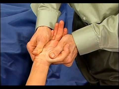 myofascial release of carpal tunnel- Clinical Massage for my massage students