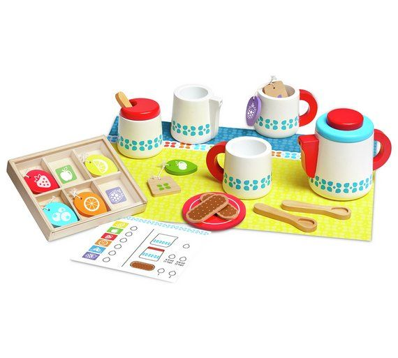 Buy Melissa & Doug Wooden Steep & Serve Tea Set at Argos.co.uk, visit Argos.co.uk to shop online for Wooden toys, Baby and pre-school toys, Toys