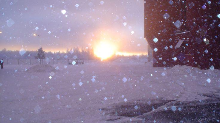 Glacial Sunset