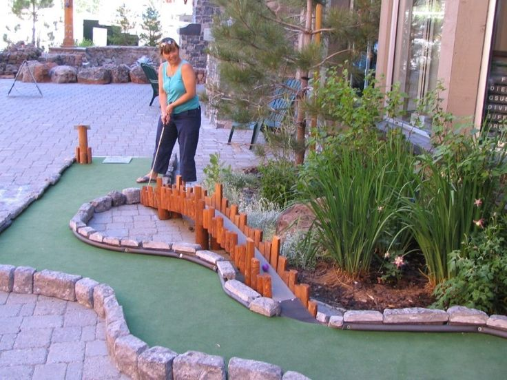 Backyard Golf Course Design image titled design a golf course in your backyard step 6 Find This Pin And More On My Backyard Mini Golf Course