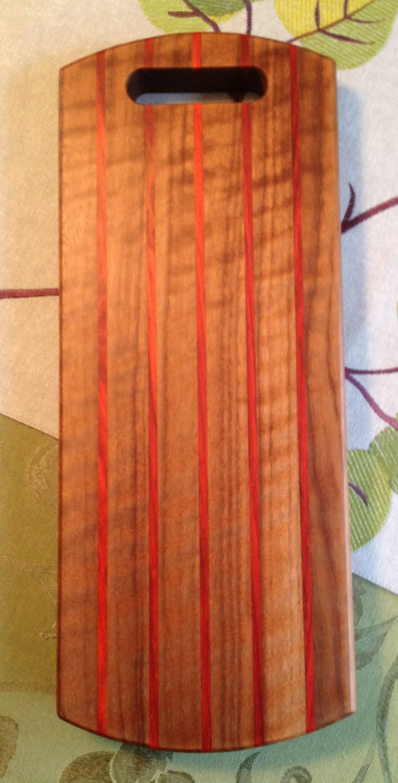 Wood Species: Curly Walnut, Padauk
