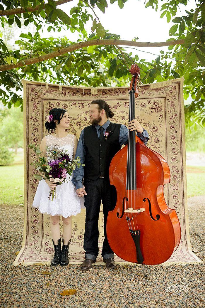 {buquê} Casamento de dia folk | foto Cadeira Amarela