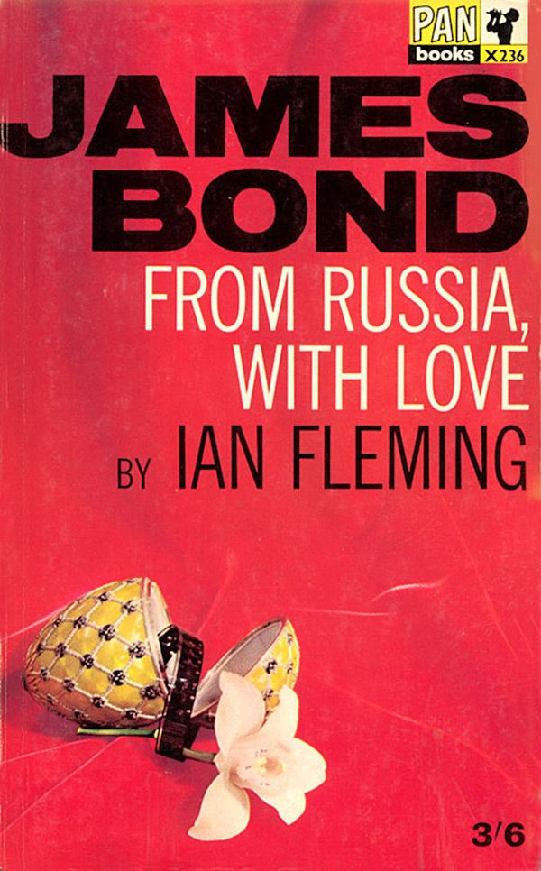 Book Cover Love ~ From russia with love good reads pinterest