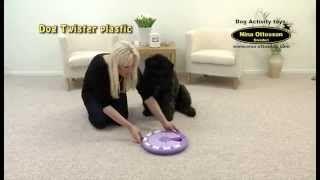 Comparte un rato divertido con tu mascota jugando a DogTwister de Nina Ottosson. Apto para perro y para gato.  Si quieres comprar este producto o quieres conocer más sobre él te recomendamos que visites la ficha del producto:  DogTwister para Perro:  http://mascositas.com/tienda/juguetes-interactivos-para-perros/dogtwister-juguete-interactivo-para-perro/  DogTwister para Gato:  http://mascositas.com/tienda/gatos/dogtwister-juguete-interactivo-para-gato/