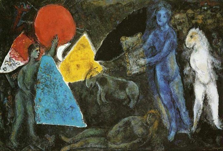 Marc Chagall - Il mito di Orfeo - 1977