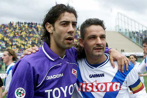 Rui Costa and Roberto Baggio