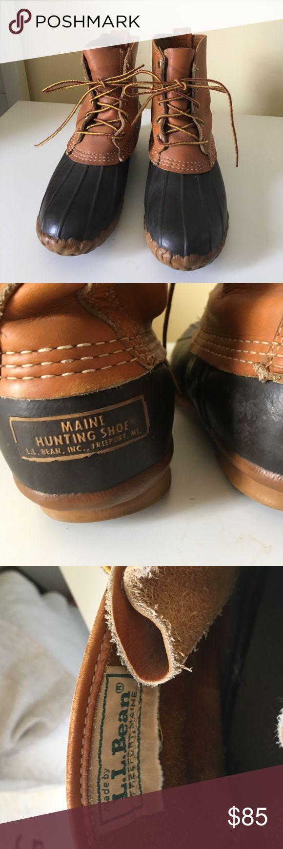 L.L. Bean Boots VINTAGE L.L. Bean Boots. Duck Boots. L.L. Bean Shoes Winter & Rain Boots