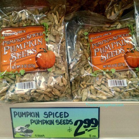Trader Joe's Pumpkin Spiced Pumpkin Seeds 8oz(227g) $2.99 トレーダージョーズのパンプキンスパイス パンプキンシード
