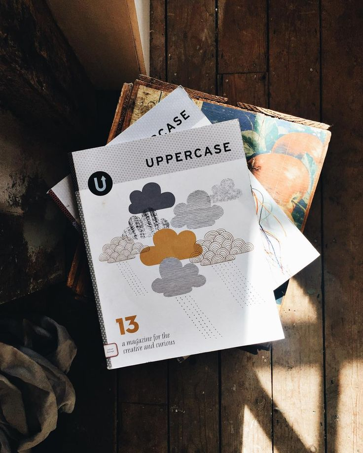 Morning - how's things ? A bit of Sunday morning indie mag love. This is a pretty old copy of an absolute favourite @uppercasemag designed edited & published in Canada by Janine Vangool . I especially love this one  as the cover is by my lovely & talented friend @eloiserenouf. I don't know about you but I can get lost in the digital world as my main source of creative inspiration. But more & more these days on screen just doesn't quite hit the mark. There's nothing like leafing through a…