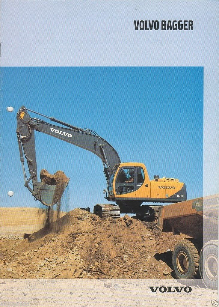 24 best front end loaders images on pinterest heavy equipment equipment brochure volvo excavator product line bagger 2000 eb593 sciox Image collections
