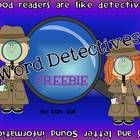 This FREEBIE is a sample mini story from my Word Detective Reading Strategy Packet.     Please try  for FREE it in your classroom.      Your students w...