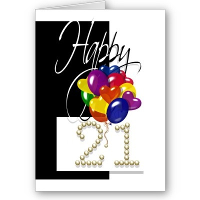 17 Best Images About 21st Brithday Cards On Pinterest