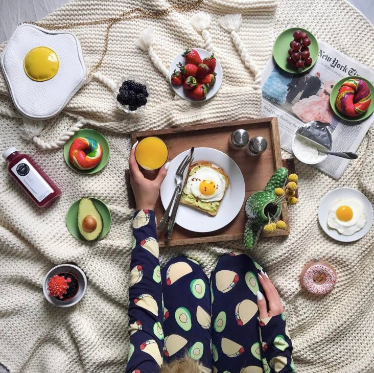 Best Food Instagrams to Follow: Social media has always had a love affair with food. So when we stumble upon mouthwatering Instagram feeds ranging from healthy breakfasts (avo toast!) and juices (greens galore!) to desserts (vegan donuts), it's easy to get sucked in. -- @HungryHipsters. | Coveteur.com