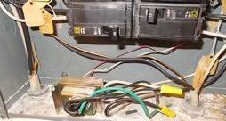 Can a doorbell transformer be installed inside an electric panel?
