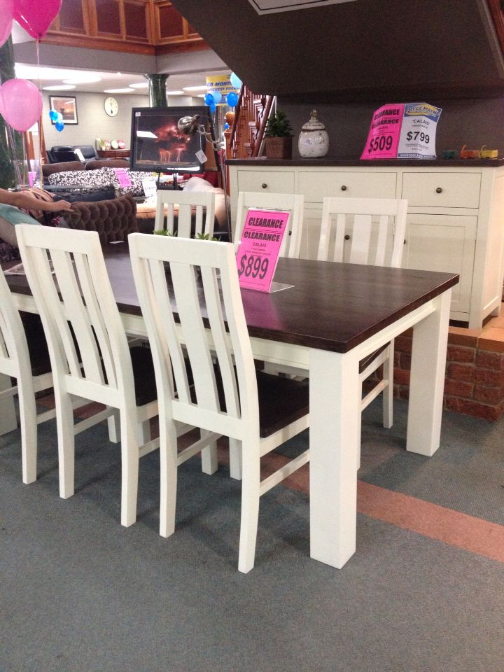 Best 25 Two Tone Table Ideas On Pinterest  Refinished Table Captivating Dining Room Furniture Clearance 2018