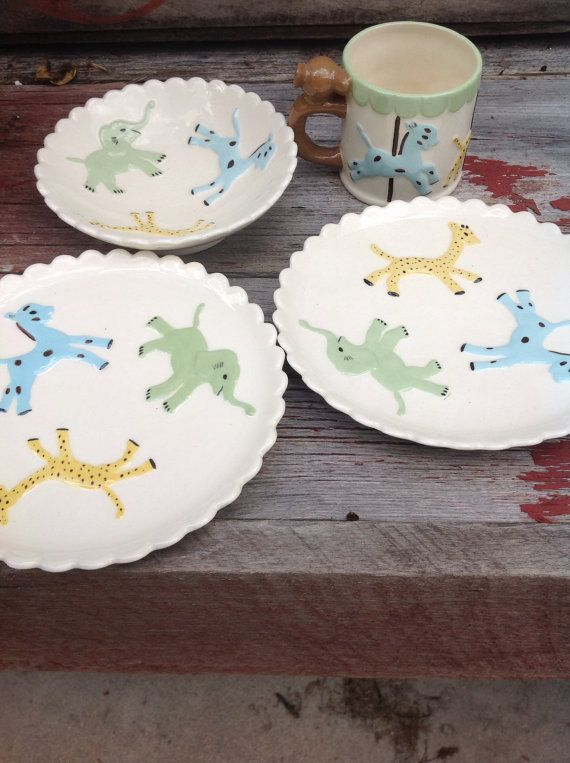 Vintage Baby Dishes 71