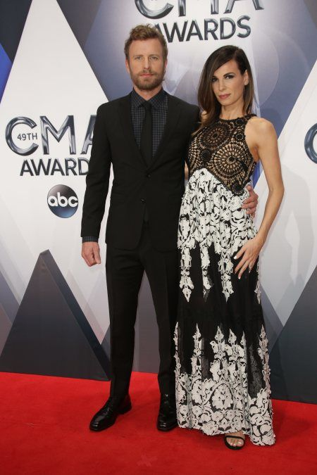 Dierks Bentley with his wife  Cassidy