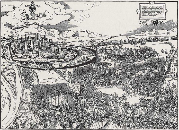 immagine della battaglia di Pavia.