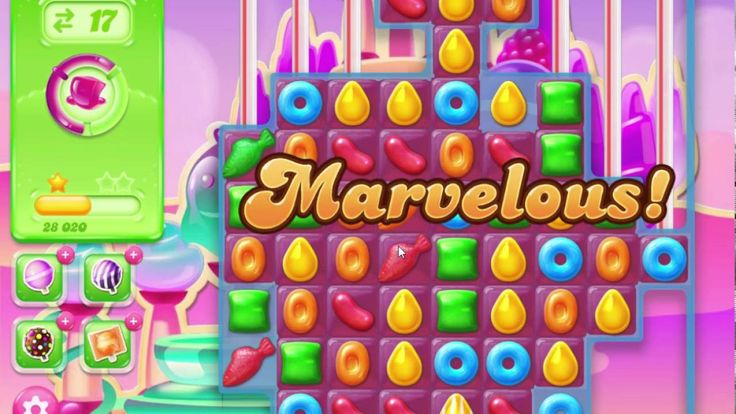 Candy Crush Jelly Saga Level 293 Spread the Jelly everywhere!