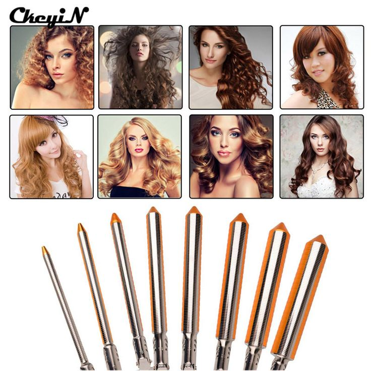Professional Hair Curling Irons 9/13/16/19/25/31MM Magic Curly Wand Tool Deep Hair Curler Electrical Hair Rollers Wave Set A4546