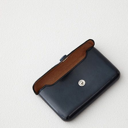Il Bussetto Business Card Holder with Snap | Mens Accessories | Steven Alan